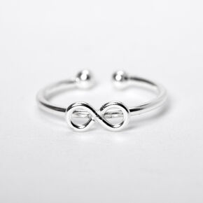 Sterling Silver Infinity Faux Nose Ring,