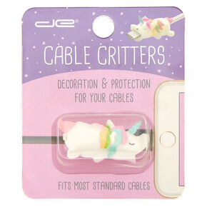 Unicorn Cable Critter - White,