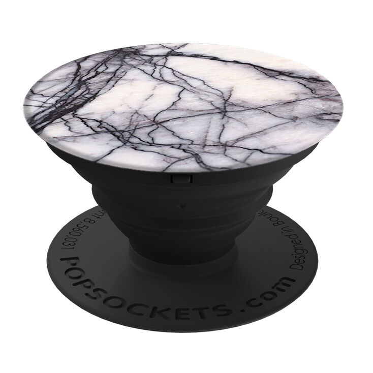 PopSockets PopGrip - White Marble,
