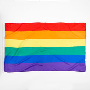 Rainbow Striped Flag,