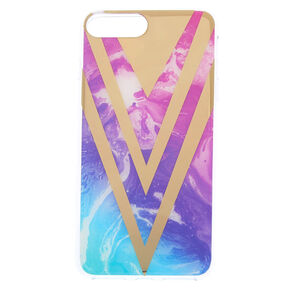 Watercolor Geometric Phone Case,