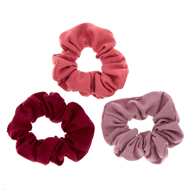 Small Very Berry Hair Scrunchies - 3 Pack,