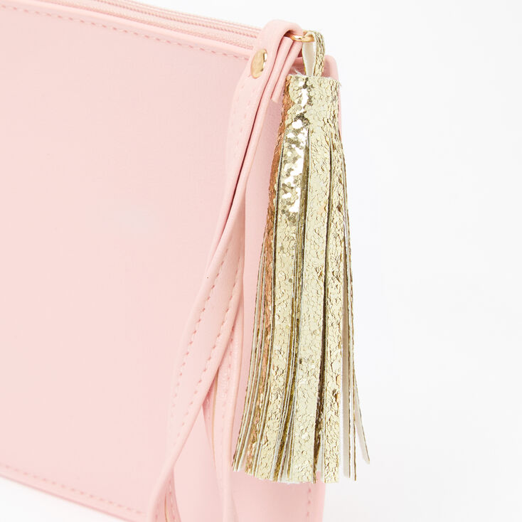 Personalized Wristlet - Blush Pink,