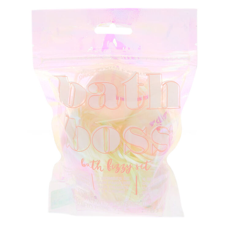 Bath Boss Bath Bomb Set - 4 Pack,