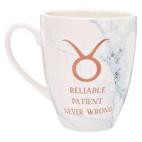 Ceramic Marble Zodiac Mug - Taurus,