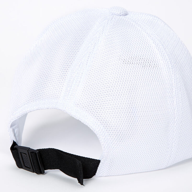 Chillin' Baseball Cap - White,