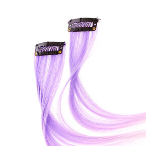 2 Pack Silver Dipped Clip On Extensions,