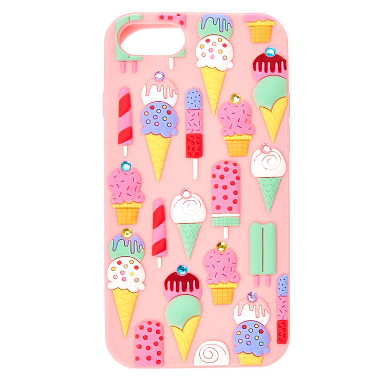 Silicone Ice Cream Phone Case,