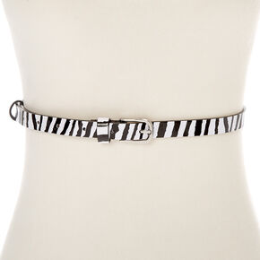 Zebra Fashion Belt,