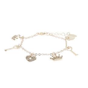 Royal Charm Bracelet - Silver,