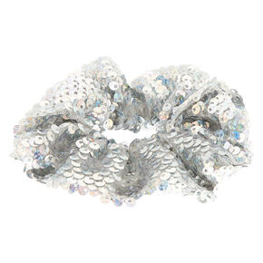 Holographic Sequin Hair Scrunchie,