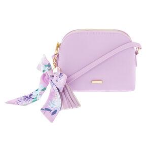 Spring Pastel Crossbody Bag - Lilac,