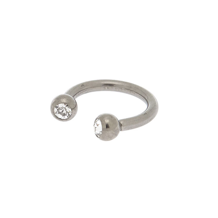 Titanium 16G Horseshoe Nose Ring,