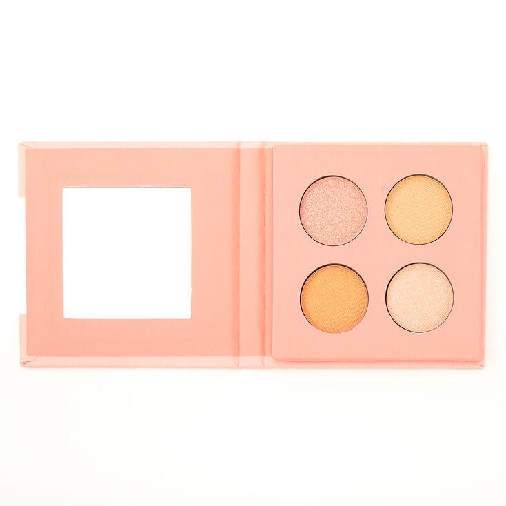 Peach Fizz Mini Eyeshadow Palette,