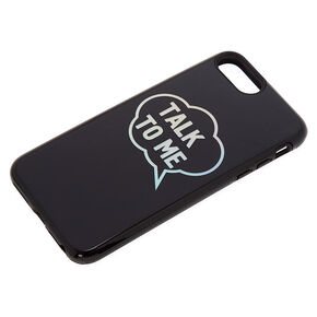 Talk To Me Protective Phone Case - Fits iPhone 6/7/8 Plus,