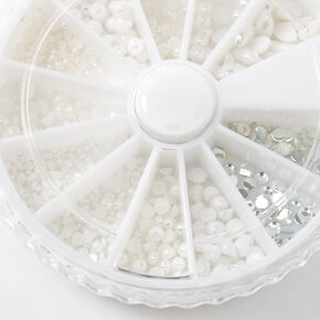 Pearl & Gems Nail Art Wheel,