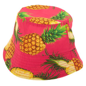Pineapple Bucket Hat - Pink,