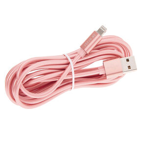 USB 10FT Charging Cord - Rose Gold,