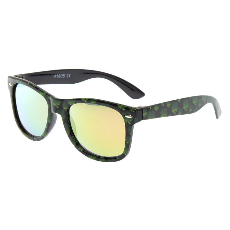 St. Patrick's Day Shamrock Sunglasses,