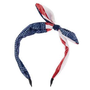 Bandana Knot Headband,