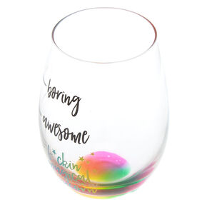 F*ckin Magical Unicorn Wine Glass,