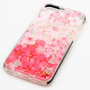 Pink Ombre Floral Phone Case - Fits iPhone 6/7/8/SE,