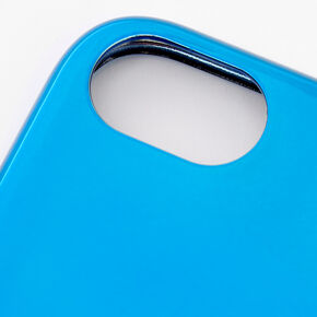 Blue Chrome Phone Case - Fits iPhone 6/7/8/SE,