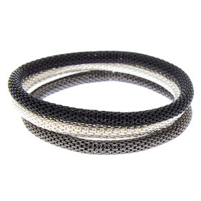 Chain Stretch Bracelets - 3 Pack,