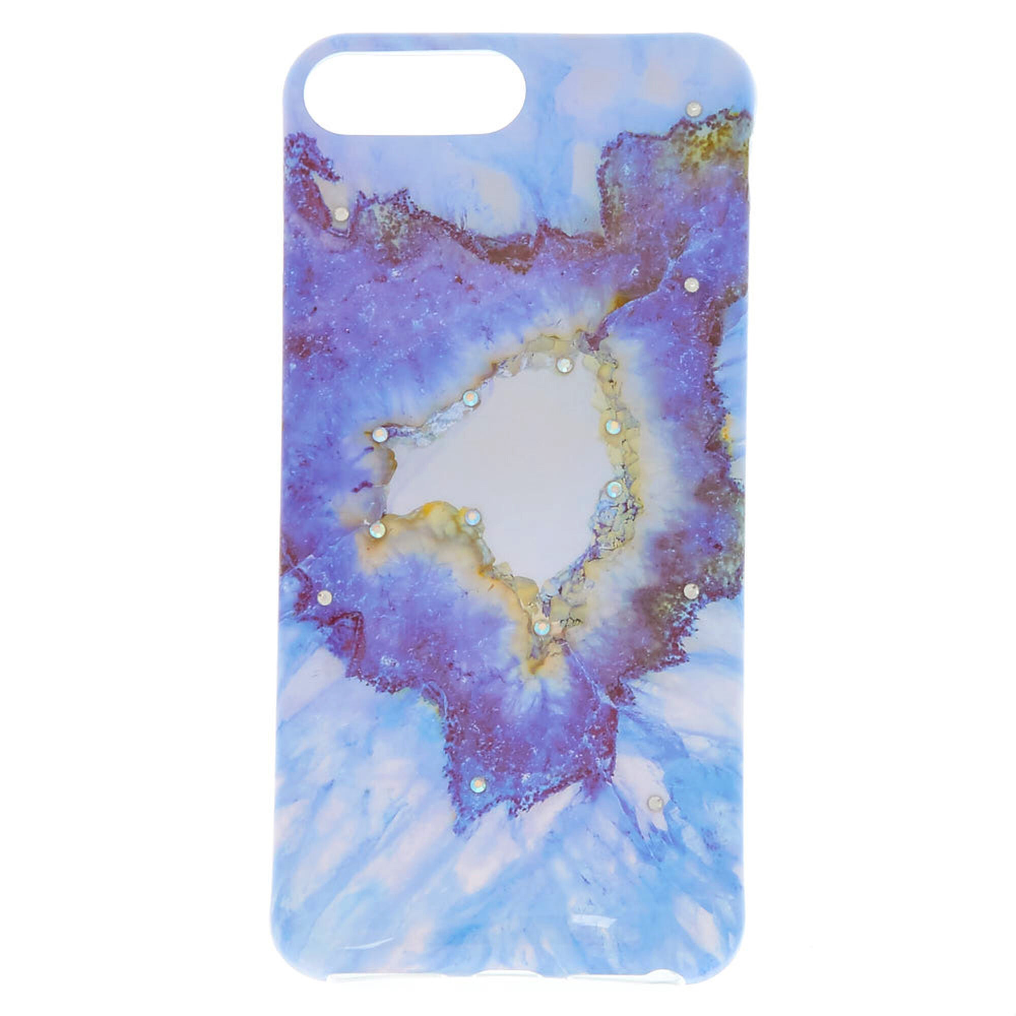 detailed look 6b5fe ddfdc Blue Agate Phone Case