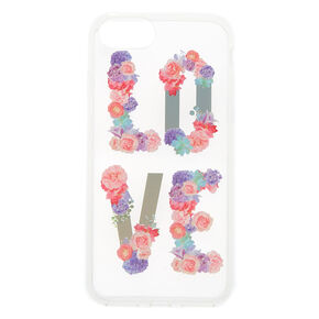 Love Pastel Flower Phone Case  - Fits iPhone 6/7/8 Plus,