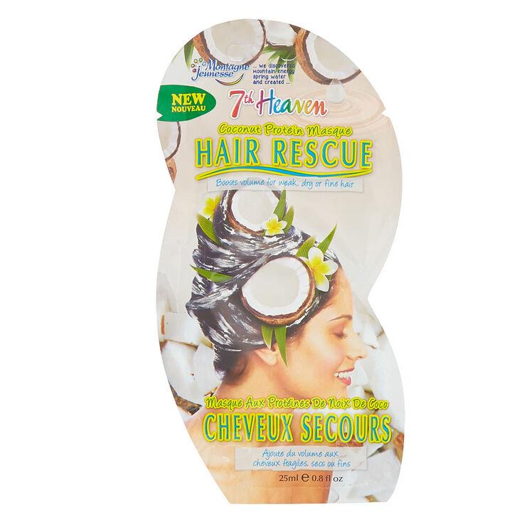 7th Heaven Hair Rescue Coconut Protein Masque,