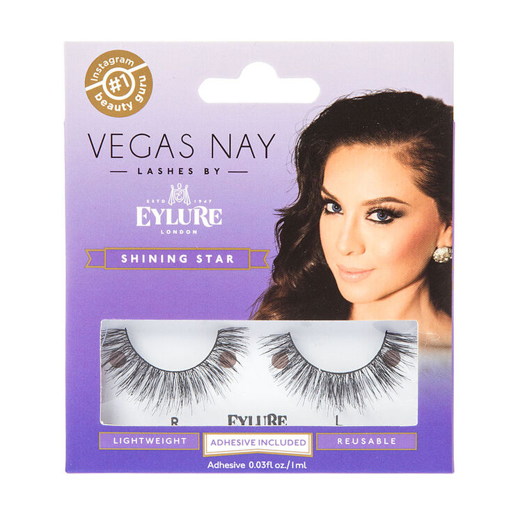 Vegas Nay Lashes by Eylure in Shining Star,