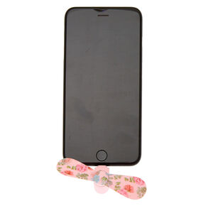 Desert Rose Phone Fan - Pink,