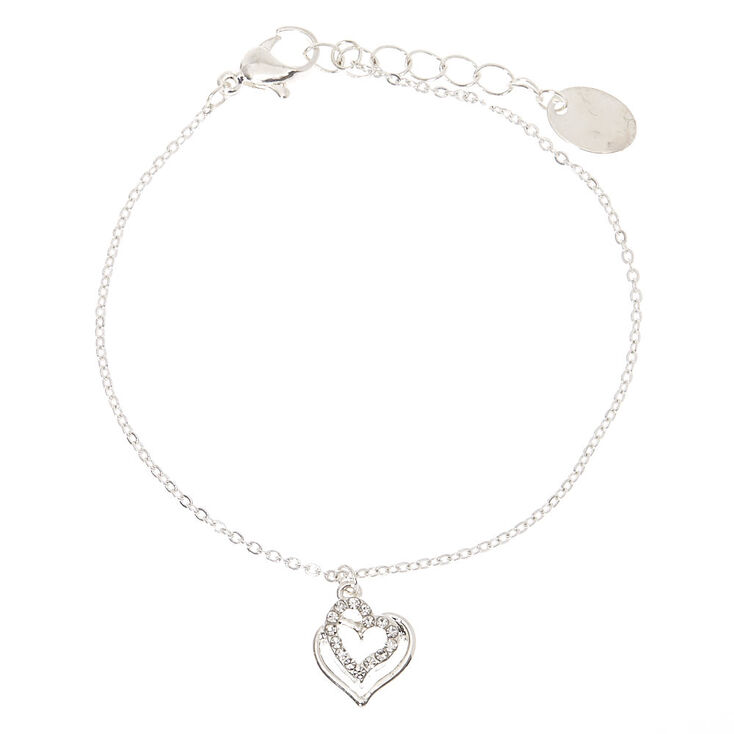Silver Heart Jewelry Set - 3 Pack,
