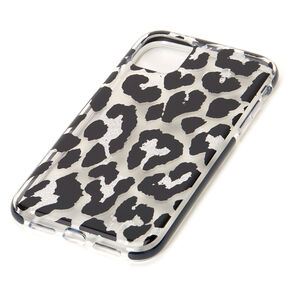 Leopard Glitter Protective Phone Case - Fits iPhone 11,