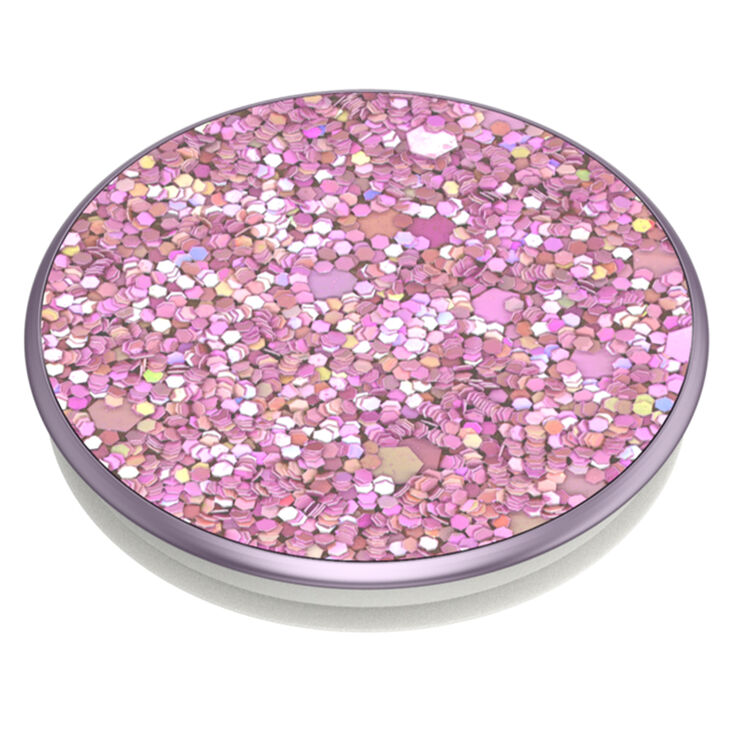 Lilac Sparkle PopSockets Swappable PopGrip,