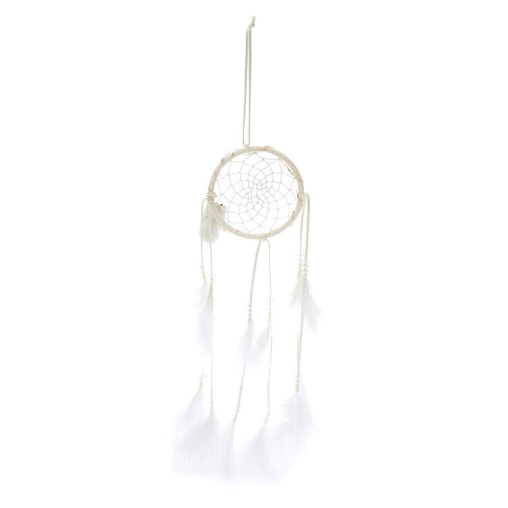 Light Up Dream Catcher Wall Art - White,