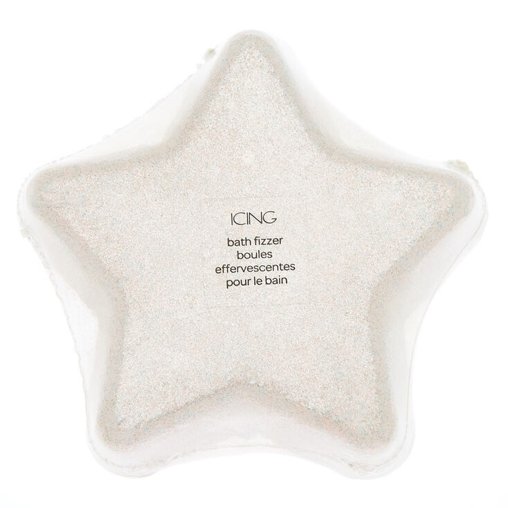 Shimmer Star Scented Bath Bomb - Silver,