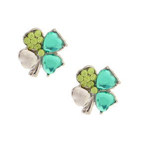 St. Patrick's Day Shamrock Stud Earrings,