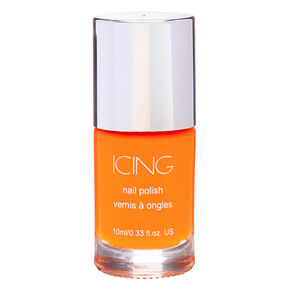 Solid Nail Polish - Neon Orange,