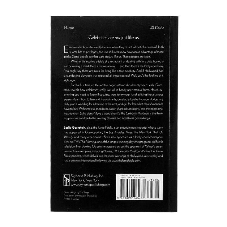 The Celebrity Playbook by Leslie Gornstein,