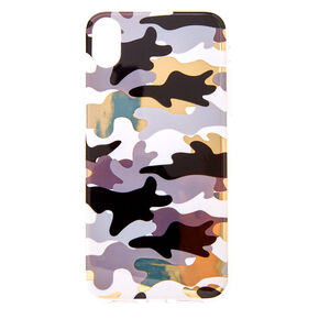 Metallic Camo Phone Case - Fits iPhone XR,