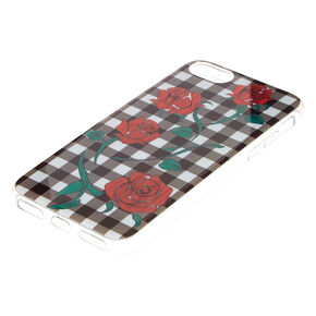 Gingham & Roses Phone Case,