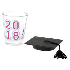 2018 Graduate Shot Glass,