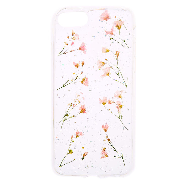 Dainty Pressed Daffodil Flower Phone Case - Fits iPhone 6/7/8/SE,