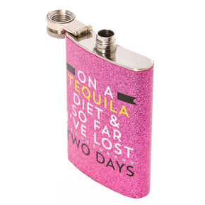 Tequila Diet Flask,