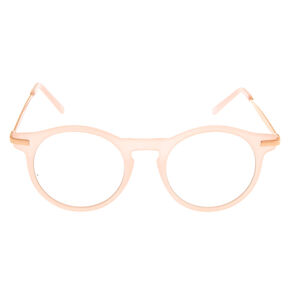 Blush and Rose Gold-Tone Frames,
