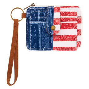 America Card Holder Wristlet,