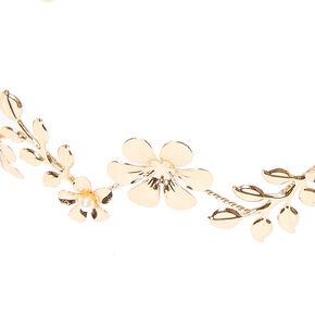Gold Flower Crown,