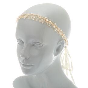 2-In-1 Gold Branch Belt & Headwrap,